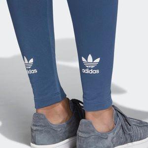Adidas leggings trefoil logo NWT